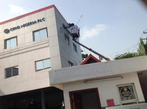 High Rise Facade and Wall cleaning