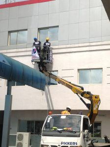Begiclean High Rise Facade and Wall cleaning
